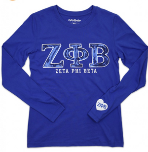 ZPB Long Sleeve Tee Royal