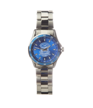 Sigma Stainless Steel Watch w/Shield