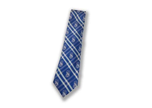 Shield Cross Stripe Tie