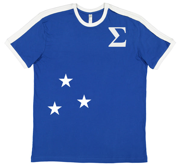 Three Star Sigma Soccer Jersey