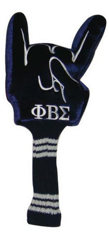 Hand Sign Golf Head Cover