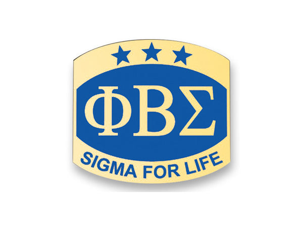 Sigma for Life Pin