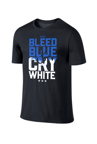 Bleed Blue & Cry White