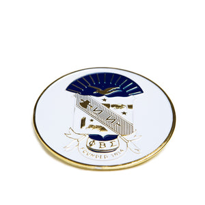 Phi Beta Sigma Round Car Badge