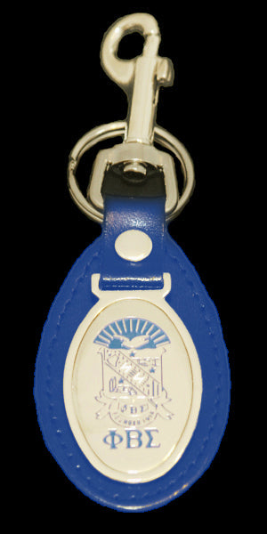 PBS Leather Key Chain