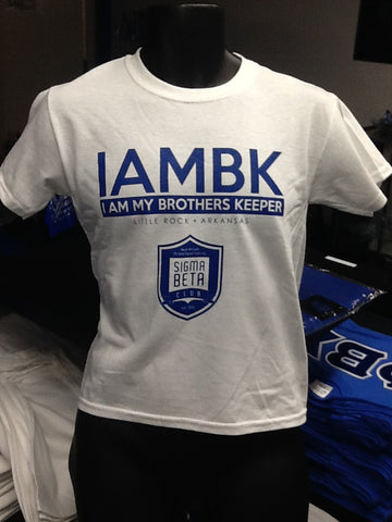 I AM BK T-Shirt (Sigma Beta Club)