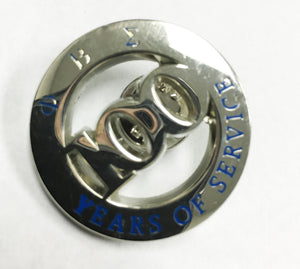 100 years centennial pin