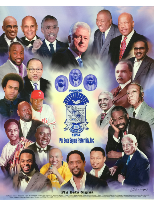Phi Beta Sigma Celebrity Prints