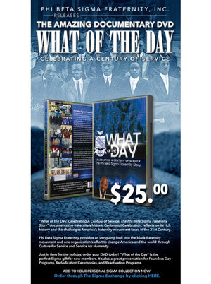 """What of the Day"" DVD"