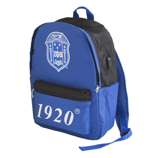 Zeta USB Port Backpack