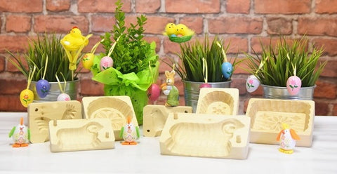 Polish Easter Wooden Butter Molds