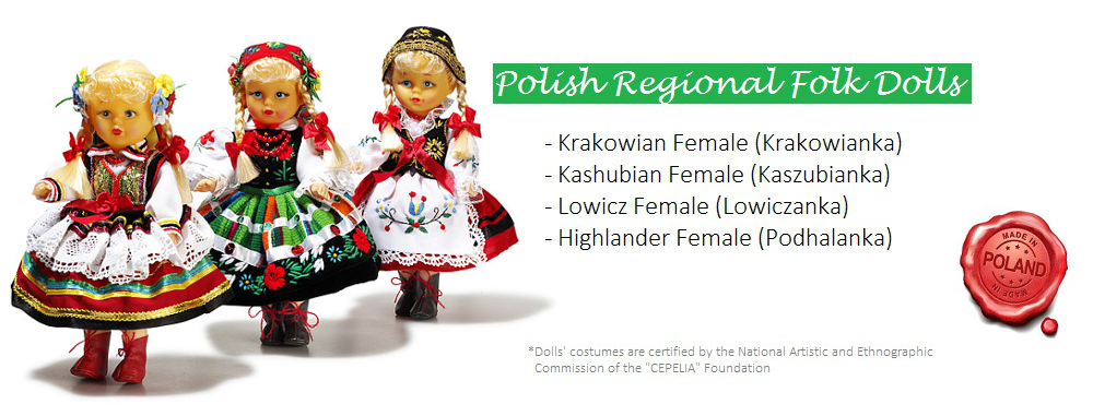 Polish Regional Folk Dolls