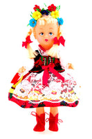 Polish Folk Doll from Krakow Region, Krakowianka