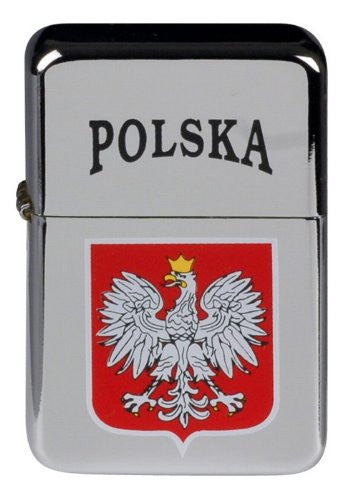 Polish Eagle COA Polska Windproof Metal Lighter - Taste of Poland