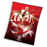 Original PZPN Poland National Soccer Team Fleece Blanket - Taste of Poland