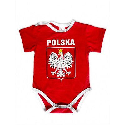 Polska Eagle Crest Toddler's Baby Onesies - Taste of Poland  - 1