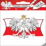 Sticker - Polish Eagle on Flag of Poland - Taste of Poland