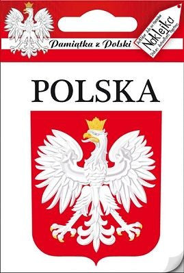 Sticker - POLSKA Eagle Crest - Taste of Poland