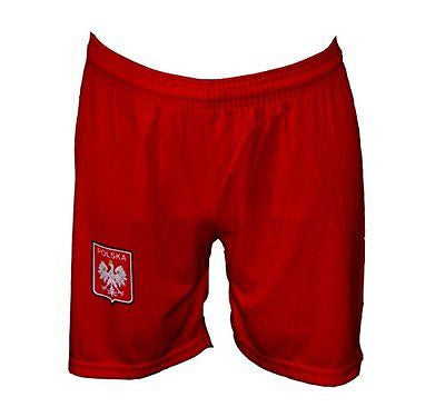 Polska Eagle Athletic Soccer Shorts - Taste of Poland  - 1