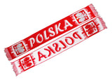 Poland Soccer Fan Accessory Set: Scarf, Hat, Trumpet, Hand - Taste of Poland  - 2