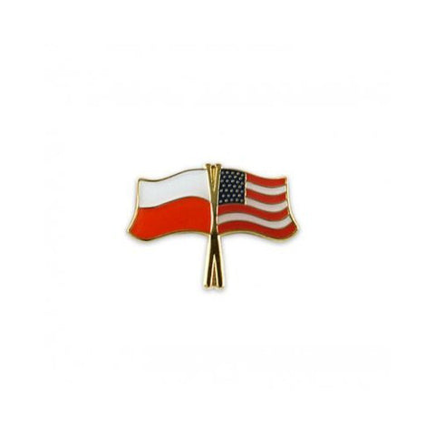 Polish American Flags - Lapel Pin - Taste of Poland