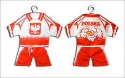 Polska Eagle Mini Soccer Uniform (Style D) - Taste of Poland