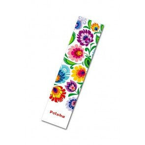 Polish Floral Folk Art Bookmark - Taste of Poland  - 3
