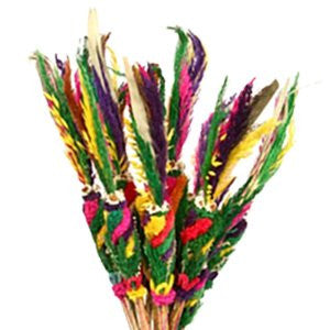 Polish Traditional Easter Sunday Palms 12 inches, Set of 3 - Taste of Poland