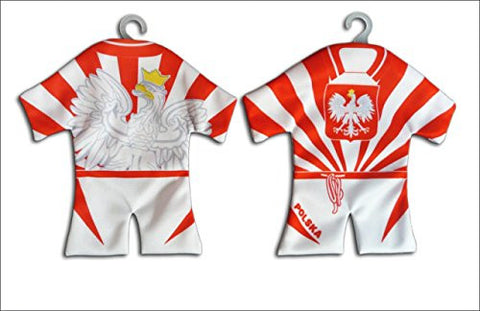 Polska Eagle Mini Soccer Uniform (Style E) - Taste of Poland