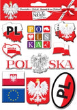 Sticker - Poland, Set of 10 - Taste of Poland