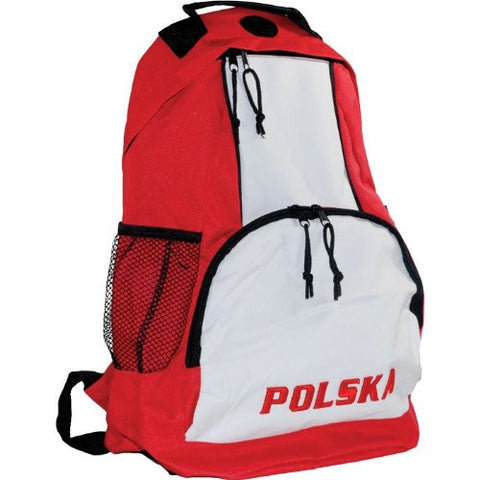 POLSKA Red & White Backpack - Taste of Poland  - 1