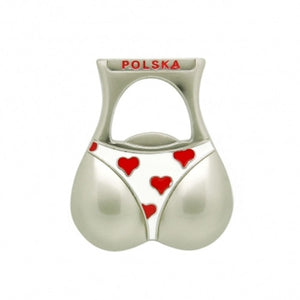 Bikini Bottom Shaped Beer Bottle Opener & Magnet - Taste of Poland