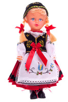 Polish Folk Doll from Kashubia Region, Kaszubianka