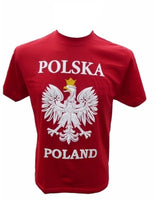 Mens Polska Poland White Eagle T-Shirt - Taste of Poland  - 1