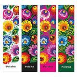 Polish Floral Folk Art Bookmark - Taste of Poland  - 2