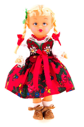 Polish Folk Doll from Highlanders Region, Podhalanka