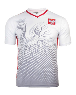 Polska Polish Eagle Men's Athletic Soccer Jersey Shirt