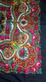 Traditional Paisley Folk Head Scarf - Green - Taste of Poland  - 2