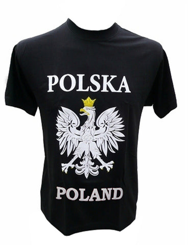 Mens Polska Poland White Eagle T-Shirt - Taste of Poland  - 5