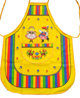 Polish Folk Art Krakow Lowicz Kitchen Apron