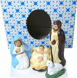 4-Piece Mini Christmas Nativity Set Figurines - Taste of Poland  - 2