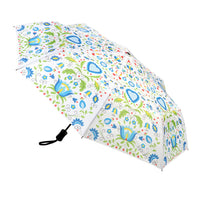 Polish Folk Art Foldable Umbrella - Kashubian