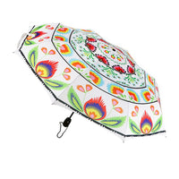 Polish Folk Art Foldable Umbrella