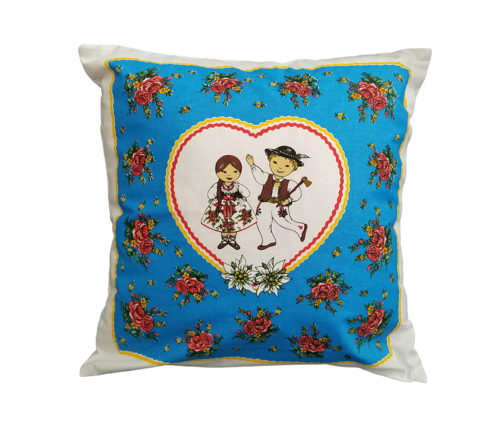 Polish Highlanders Folk Art Accent Pillow Case