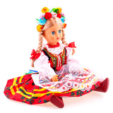 "Large Polish Folk Doll from Krakow Region, Krakowianka 16"" Tall"