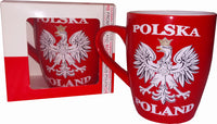 Polska Poland Ceramic Red Eagle Mug - Taste of Poland