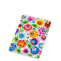 Polish Folk Art Small Spiral Notebook