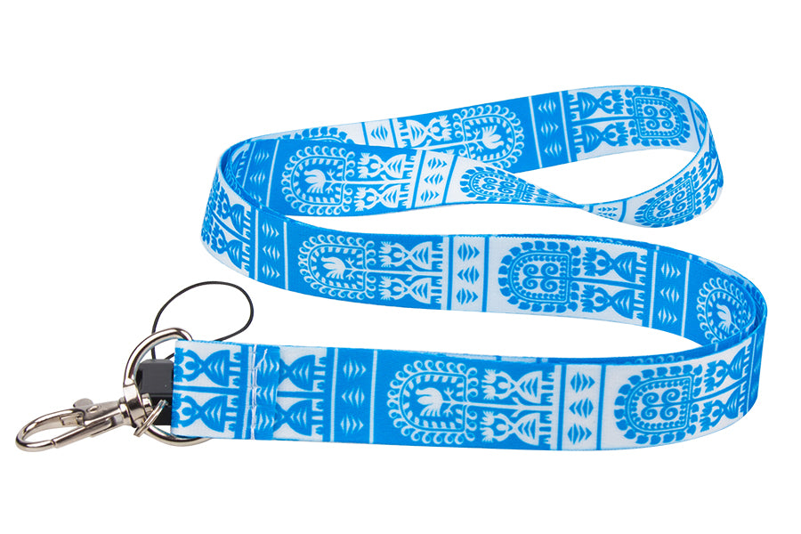 Polish Kurpian Folk Art Neck Strap Lanyard