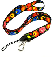 Polish Folk Art Neck Strap Lanyard
