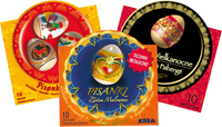 30 Easter Egg Wraps / Sleeves - Folk & Faberge EXCLUSIVE SERIES - Taste of Poland  - 1